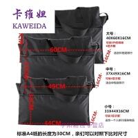 男女新款尼龙包大包短途旅行包手提大容量防水拉链购物袋帆布折叠 银色 中号49X37X16