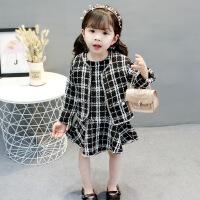 女宝宝春秋装套装连衣裙女童洋气0两件套24裙子1-3周岁韩版潮yly