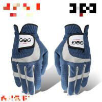 高尔夫球手套男 耐磨透气超纤布左右手双手高尔夫手套单只
