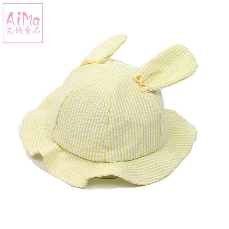 童帽儿童婴儿帽夏女宝宝遮阳帽棉帽透气出游 太阳帽渔夫帽 秋盆帽91  S 48CM(1-2岁) 发货周期:一般在付款后2-90天左右发货,具体发货时间请以与客服协商的时间为准