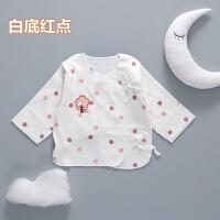 新生儿半背衣纯棉薄款上衣宝宝的纱布和尚服初生婴儿衣服夏季52cm 52cm