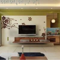 亚克力3D立体墙贴家装饰品客厅电视背景墙壁纸贴画