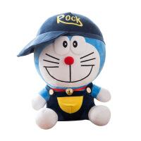 创意戴帽子哆啦A梦公仔布娃娃穿衣服叮当猫玩偶抱枕毛绒玩具礼物 哆啦a梦 图片色