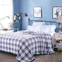 ???法兰绒毯 夏季办公室午睡小毯子盖毯加厚毛毯单人空调毯