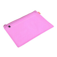 晨光彩色文件袋 A4隔层拉链袋 资料袋 拉边袋收纳袋 ADM94890