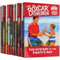 棚车少年61-70册套装 英文原版 The Boxcar Children Mysteries Books 61-70英文版原版书籍 进口英语章节桥梁书 美国经典儿童读物