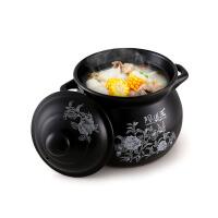 砂锅炖锅家用燃气陶瓷煲汤锅小沙锅汤锅明火耐高温瓦罐汤煲ip5