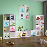 实木宝宝书架儿童收纳柜玩具收纳架玩具柜玩具架绘本架整理架