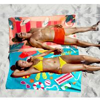 旅行运动毛巾温泉吸水女快干沙滩速干浴巾沙滩巾垫巾户外游泳