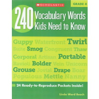 【四年级】240 Vocabulary Words Kids Need to Know Grade 4 学乐词汇练习册