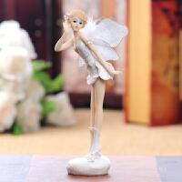 欧式天使摆件家居装饰品摆件客厅摆件树脂装饰小天使摆件64