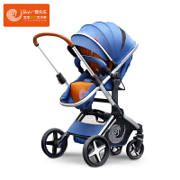 Bair高景观婴儿推车 儿童推车 折叠可坐可躺 双向避震