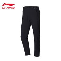 李宁运动裤女士2018新款跑步系列长裤夏季女装梭织运动裤AYKN056