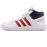 阿迪达斯Adidas DB1364网球鞋男鞋 高帮保暖运动休闲鞋