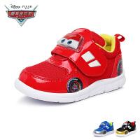 【2件3折后到手价:96.9元】迪士尼Disney童鞋汽车总动员麦昆宝宝鞋婴童学步鞋秋款步前鞋婴儿鞋 红色(0-4岁可
