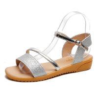 WARORWAR 2019新品YM84-Y-6夏季韩版坡跟低跟女鞋潮流时尚潮鞋百搭潮牌凉鞋女