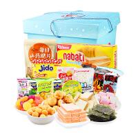 【促销】丽芝士零食大礼包进口组合一整箱超大的休闲办公室混合装食品礼盒