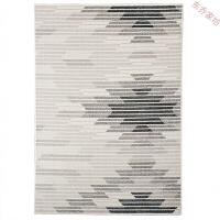 风格地毯 家用现代简约客厅沙发茶几垫卧室长方形床前毯