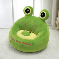 ?卡通粉色蜜蜂青蛙蜗牛公仔毛绒玩具儿童小沙发生日礼物男女 50厘米