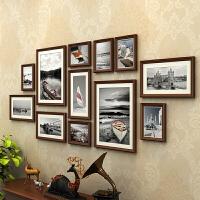 相框创意挂墙画框7寸装裱定做非摆台婚纱照像框照片墙实木相片框 适合2米-3.5米墙面