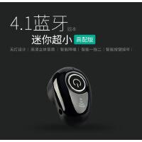 迷你超小无线4.1蓝牙耳机重低音乐运动跑步防水防汗双耳耳塞挂耳式入耳式苹果手机降噪中文语音提示左右耳可佩戴