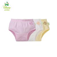 【99元3件】迪士尼Disney 男女宝宝纯棉三角内裤3条装143P635