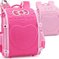 hellokitty小学生书包1-3年级女童6-10贵族减负女孩儿童双肩背包