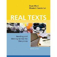 【预订】Real Texts with Access Code: Reading and Writing Across