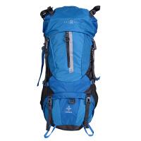 瑞士轻便防水大容量旅行包袋男士户外运动60L登山双肩背包