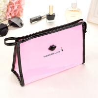 女士化妆包手拿大容量便携洗漱韩国化妆袋旅行收纳防水