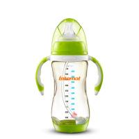 宽口径PPSU感温变色婴儿奶瓶300ML 耐摔防胀气5up