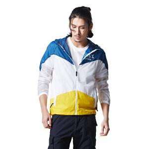 AIRTEX亚特防晒抗紫外线登山旅行跑步健身男式皮肤风衣