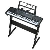 61键儿童电子琴带麦克风初学入门多功能粉色小钢琴女孩3-5-6-12岁