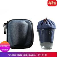旅行茶具套装便携包快客杯一壶二杯陶瓷家居户外懒人整套功夫茶具 4件