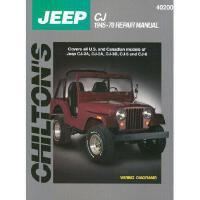 【预订】Jeep Cj, 1945-70
