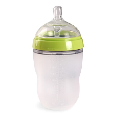 Comotomo可么多么奶瓶 宽口硅胶奶瓶 宝宝防摔 防胀气奶瓶 新生儿
