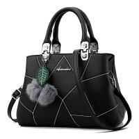 女士包包2018新款时尚中年女包妈妈包单肩包斜挎包2017手提包韩版