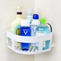 浴室卫生间吸盘置物架收纳架壁挂吸壁式厕所三角储物架