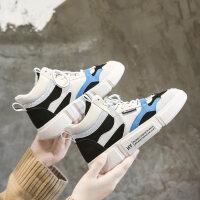 冬季新款高帮女鞋韩版冬鞋百搭学生休闲运动鞋潮冬天加绒棉鞋