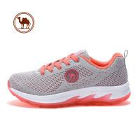 【每满100减50】骆驼牌女鞋 女款跑步鞋 运动防滑透气系带女款运动跑步鞋休闲女鞋