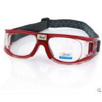 遮目眼镜防护眼镜专业篮球护目镜足球运动眼镜 防撞可配近视眼镜框男防雾