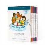 One Story A Day 365个英文故事天天故事会原版绘本 每天一个磨耳朵睡前小故事小学三四年级教材课外书8-