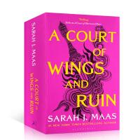 【全店300减100】英文原版 风与厄运的法庭 A Court of Wings and Ruin
