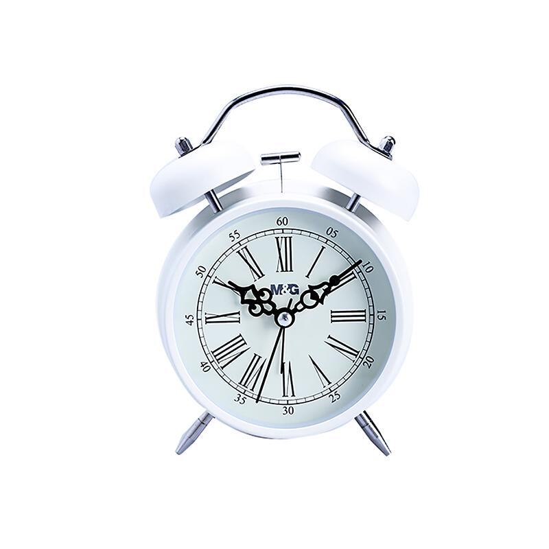M&G晨光ARC92502静音闹钟学生大号金属多功能闹钟4寸(单个)当当自营
