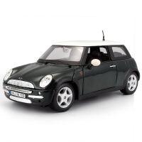 1:24宝马迷你mini库珀车模合金仿真汽车模型摆件玩具礼物男 宝马MINI Cooper 金�倬G107