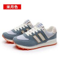 运动鞋女平底冬季新款学生原宿韩版女阿甘百搭跑步鞋