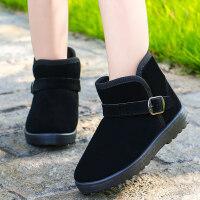 儿童雪地靴加厚加绒棉靴秋冬新款靴子冬季男童鞋宝宝女童短靴