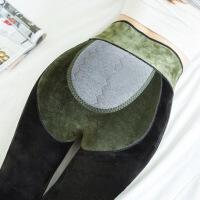 新款磁疗暖宫艾草护腰打底裤秋冬加绒加厚锦纶分层一体裤400