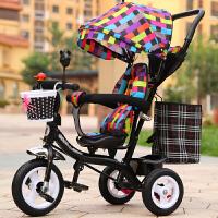 多功能儿童三轮车宝宝手推车1-3岁婴幼儿童脚踏车小孩自行车