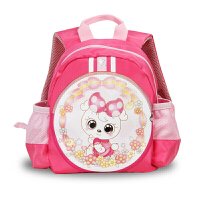 幼儿园书包男孩1-3岁小童女宝婴儿可爱双肩时尚卡通学前小班潮包